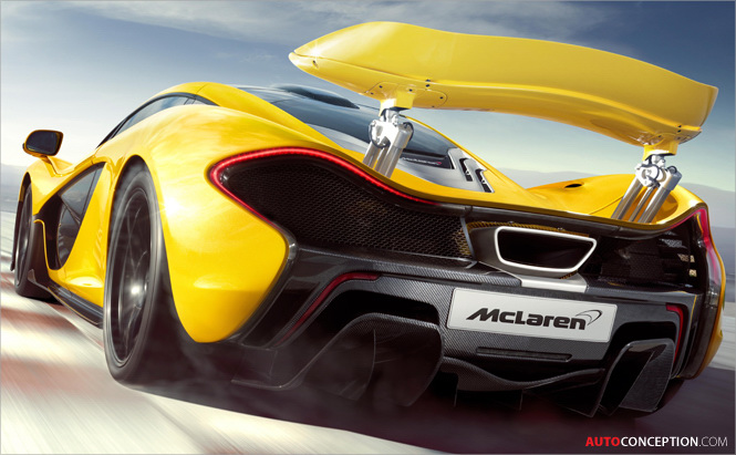 Official Pictures and Details: McLaren P1