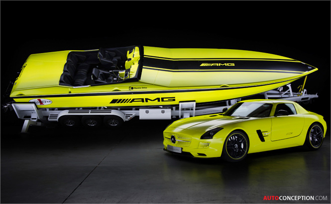 AMG Develops 'World's Fastest' Electric Powerboat