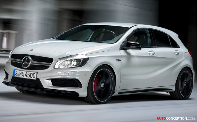 Mercedes Unwraps New Hot Hatch: The A 45 AMG