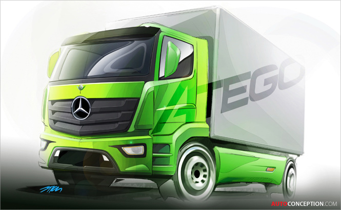 Truck Design: New Mercedes-Benz Atego