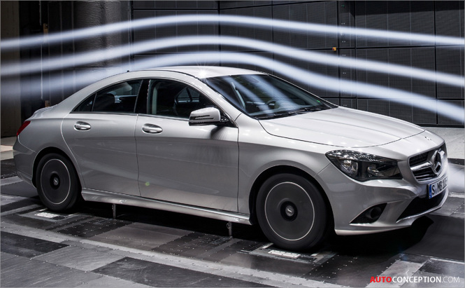 Mercedes Cla The Most Aerodynamic Production Car In The