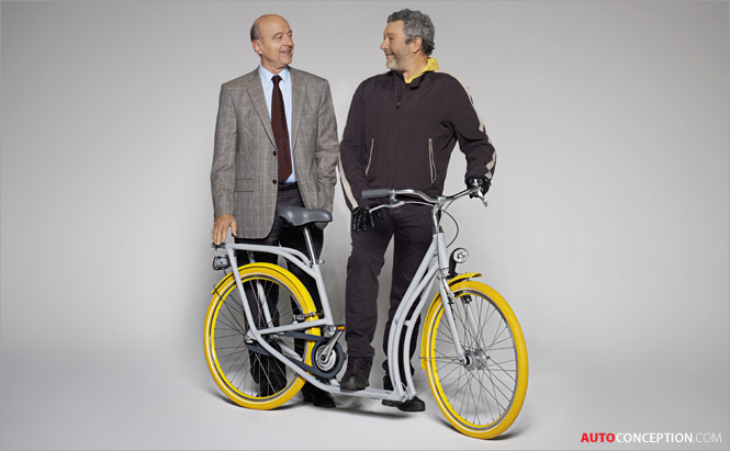 Philippe Starck and Peugeot Design PIBAL City Bike