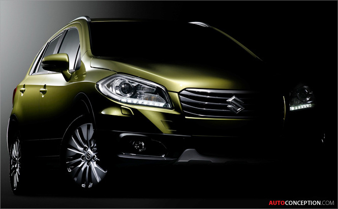 Suzuki Set to Reveal All-New C-Segment Crossover