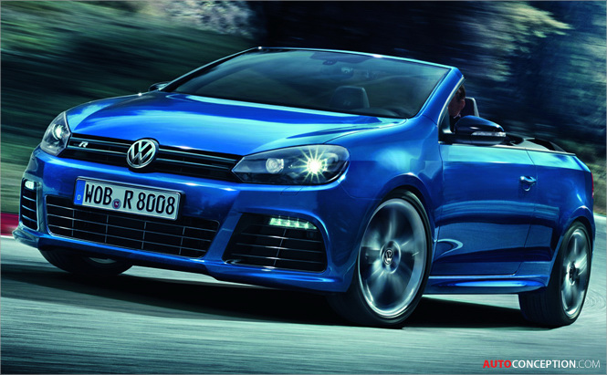 VW Shows Off Golf R Cabriolet, Limited Edition Beetle GSR