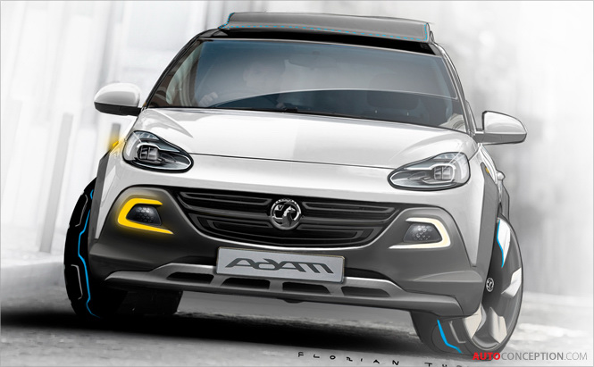 Vauxhall to Unveil ADAM ROCKS Concept in Geneva