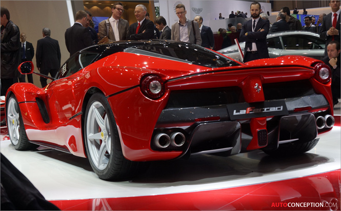 Geneva Motor Show Photo Gallery Part I: LaFerrari, Lamborghini and More