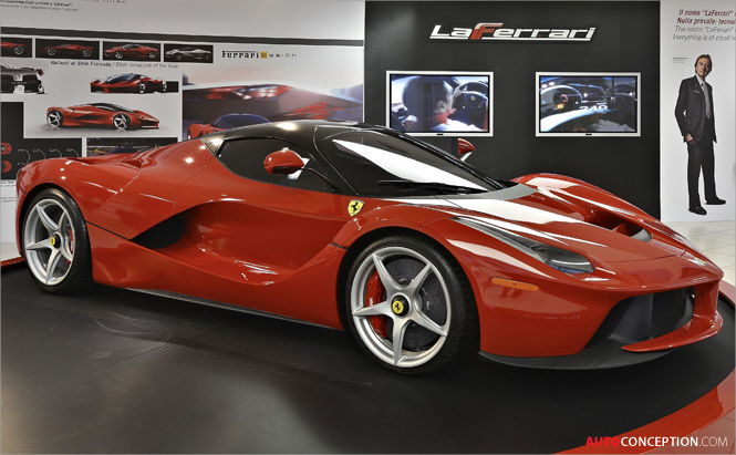 LaFerrari Design Takes Centre Stage at New Ferrari Exhibition