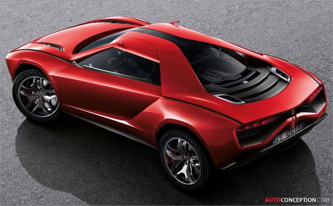 Lamborghini-Powered Giugiaro Parcour Concept