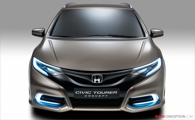 Honda Takes Wraps Off Civic Tourer Concept