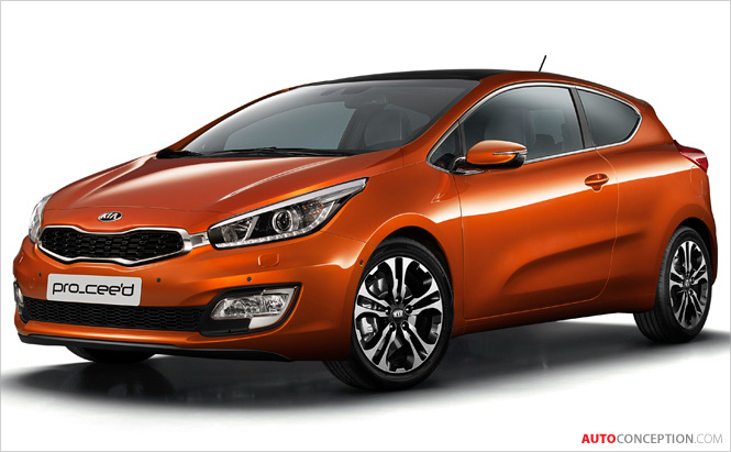 Kia pro_cee'd Gets 'Best of the Best' in 'red dot' Design Awards