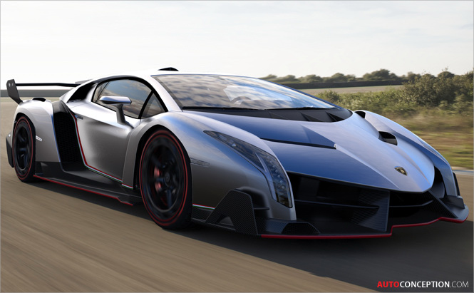 Lamborghini Unveils New Veneno Sportscar