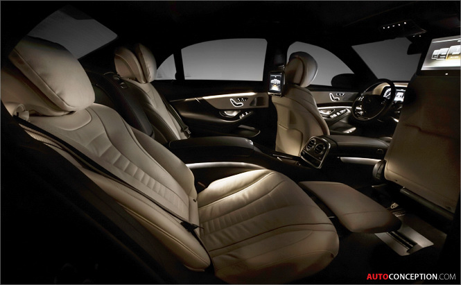 Mercedes-Benz S-Class Interior Design