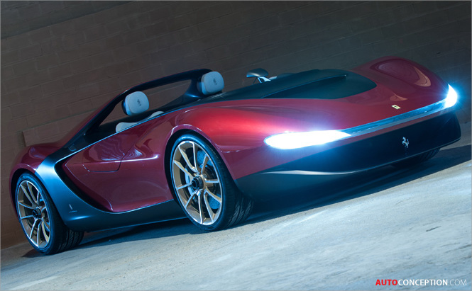 Pininfarina Sergio Tribute Car Revealed