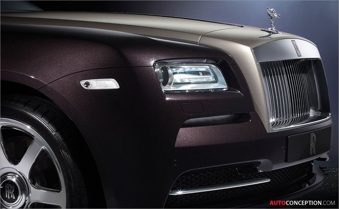 Rolls-Royce Wraith Officially Revealed