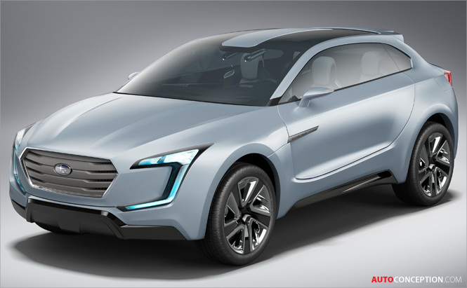 Subaru VIZIV Concept Revealed in Geneva
