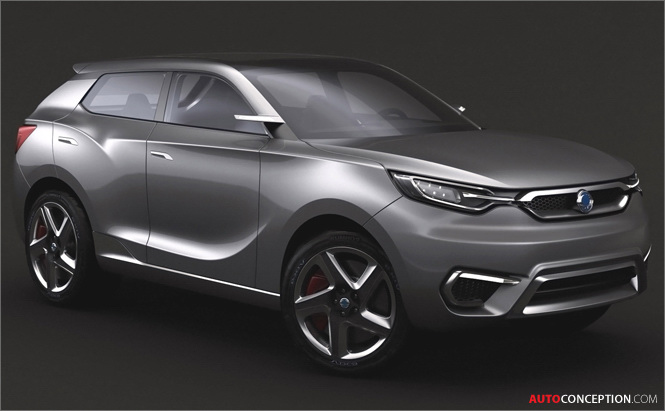 SsangYong Reveals SIV-1 CUV Concept