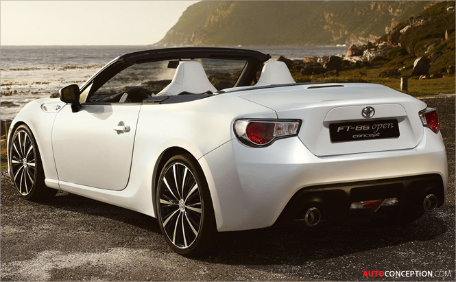 Toyota Reveals 86 Convertible Concept Ahead of Geneva