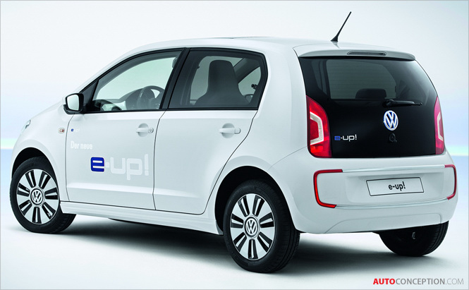 Volkswagen's First All-Electric Car: The New e-up!