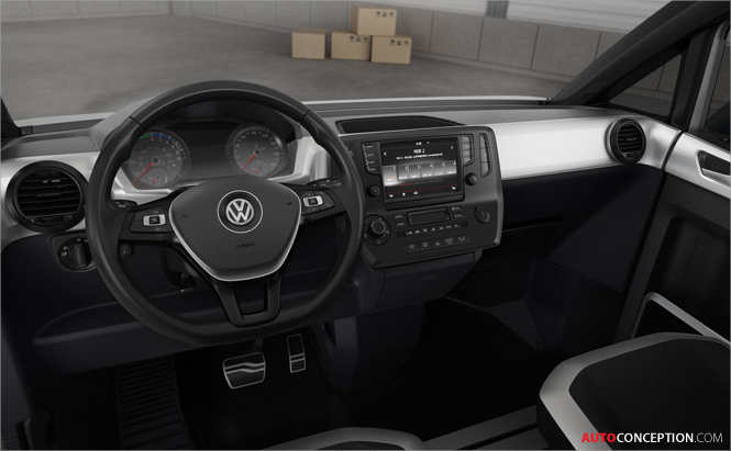 Delivery Van of the Future: Volkswagen e-Co-Motion