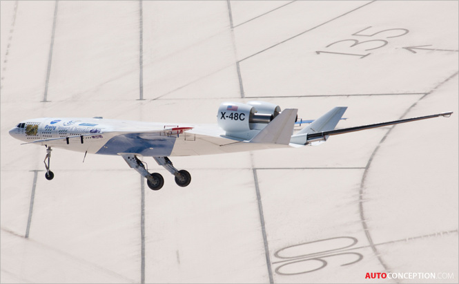 Boeing X-48C Blended Wing Body Research Aircraft Completes Flight Testing