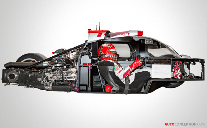 Audi-Le-Mans-prototypes- ultra-lightweight-racing-car-design