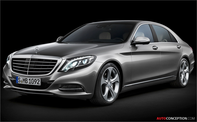 Mercedes-Benz Unveils New S-Class