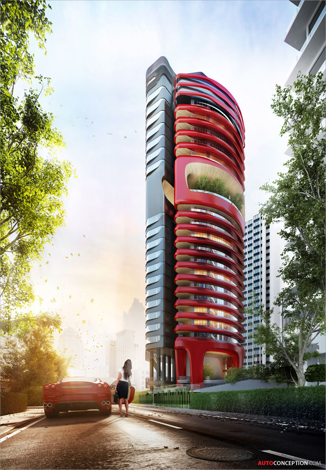 Pininfarina-Far-East-Organization-Ferra-ultra-luxury-condo-architecture-car-design-9