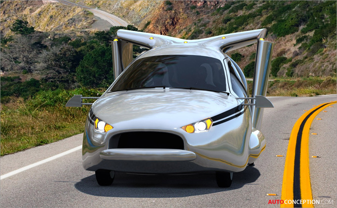 Terrafugia Reveals Hybrid-Electric 'TF-X' Flying Car ...