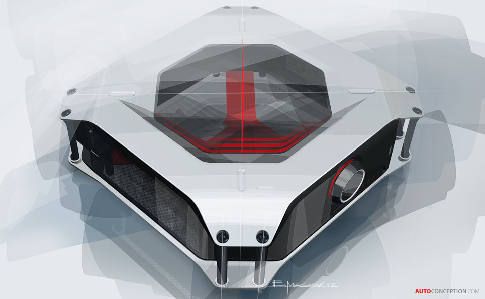 BMW Designs Gaming PC for AS Rock