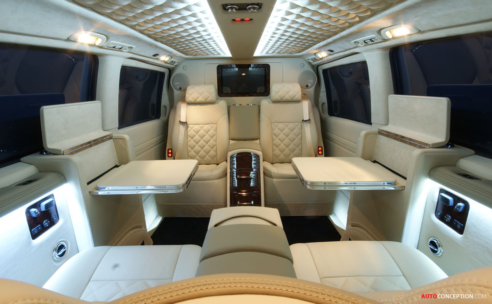 Designs On Your Van Luxury Interiors By Carisma Auto