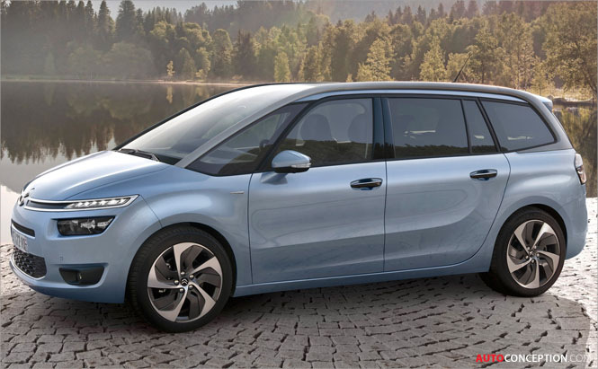 New Citroën Grand C4 Picasso Revealed