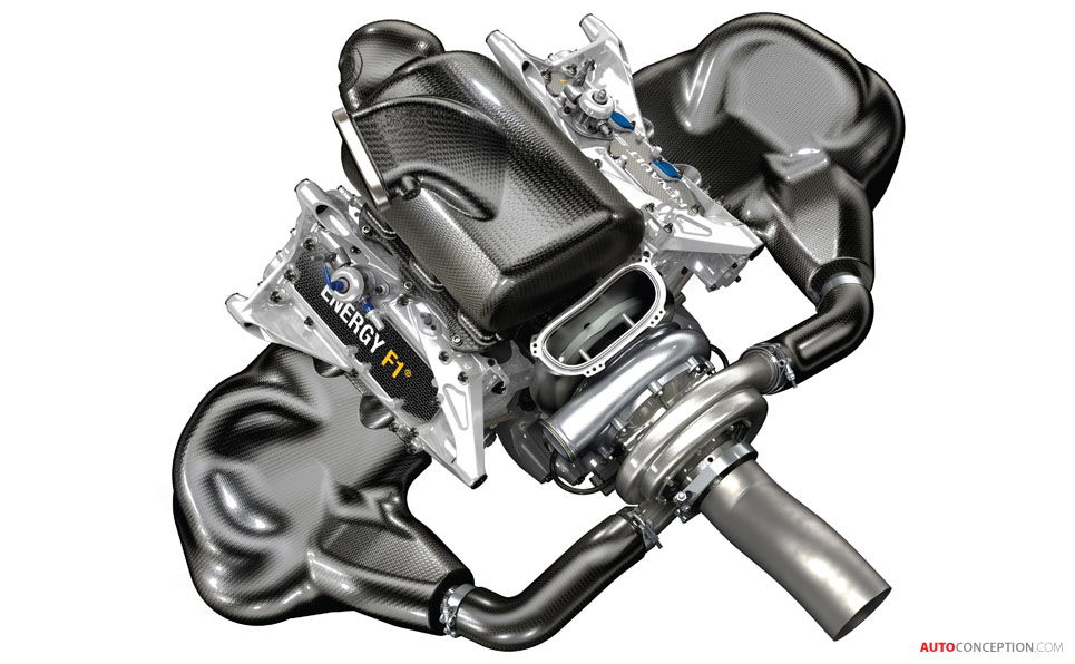 Renault Reveals Engine Design for 2014 F1