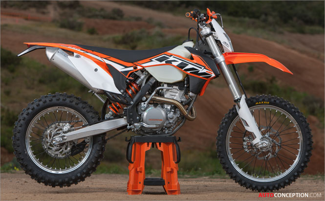 All-New 2014 KTM 250 EXC-F Revealed