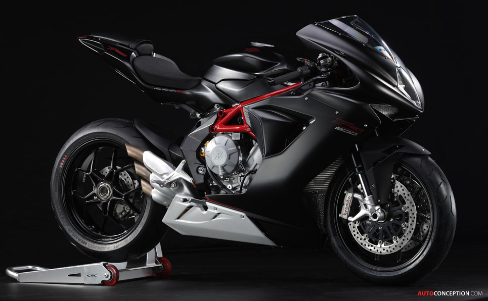 MV Agusta Unveils New 'F3 800' Motorcycle