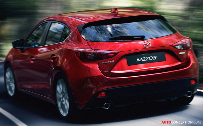 New Mazda3 Hatchback Design Unveiled