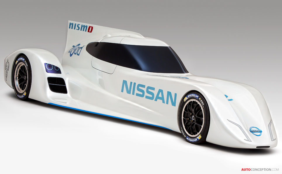Nissan Unveils 'ZEOD RC' – World's Fastest Electric Racing Car