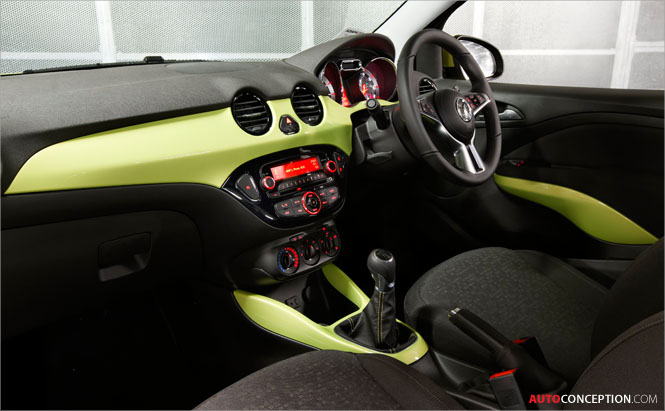 Vauxhall ADAM Wins Car Interior Design Award