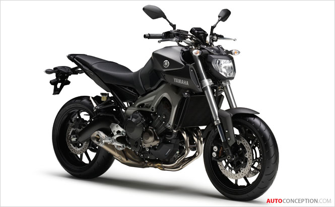 All-New Yamaha MT-09 Unveiled