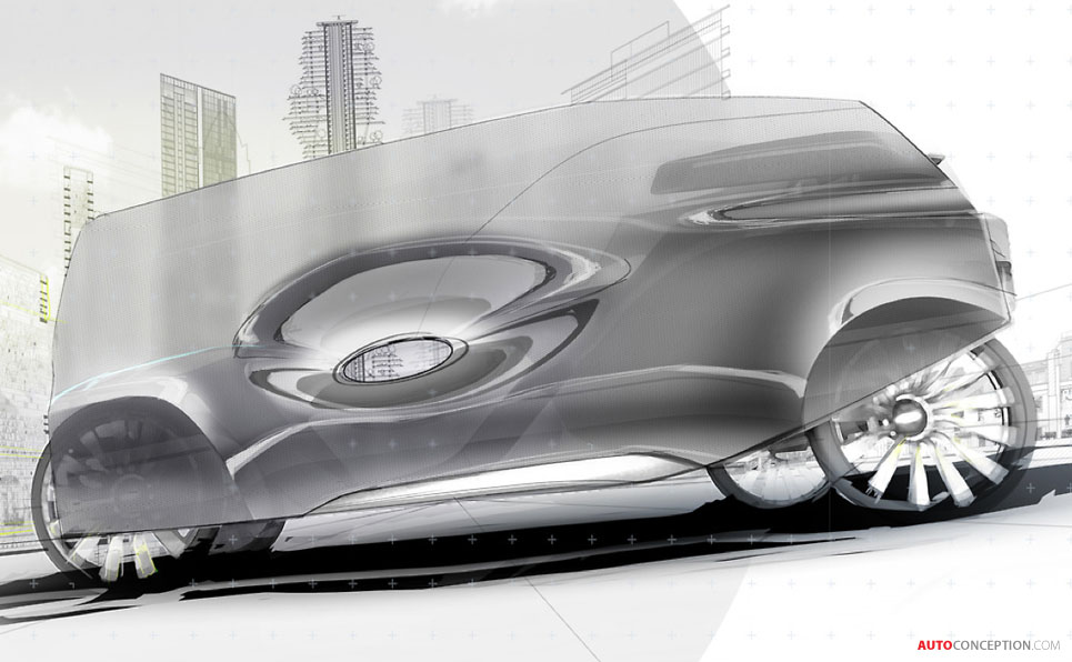3D Printed Car Concept Wins Pilkington Design Award