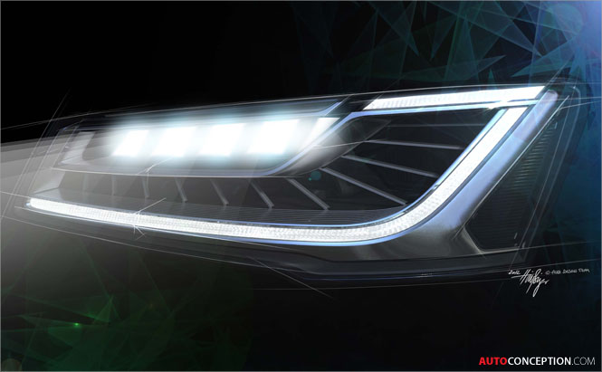 Audi-Matrix-LED-headlight-design-technology