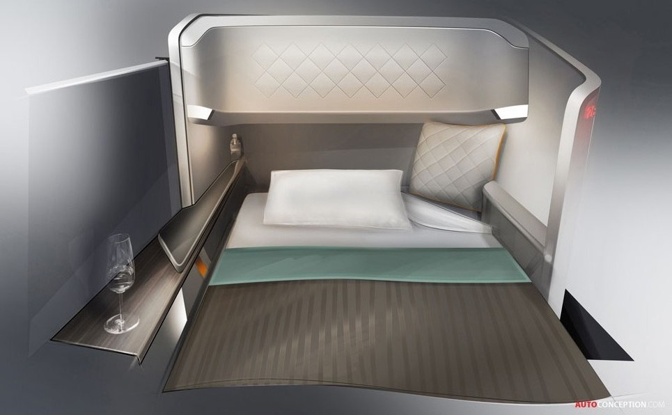 Bmw Designworksusa Brings Premium Experience To Airline Interiors