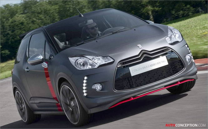 Citroën to Reveal DS3 'Cabrio Racing' Concept Car at Goodwood
