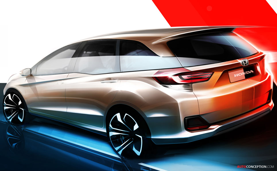 Honda Previews New MPV Design, Set to Premiere at Indonesia Motor Show