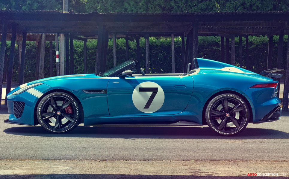 Jaguar 'Project 7′ Design Study Revealed