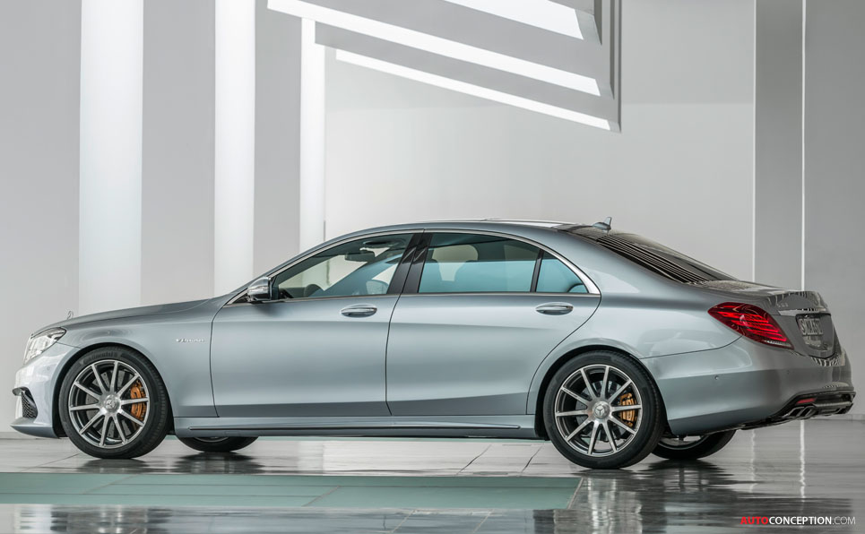 Mercedes S63 AMG Unveiled