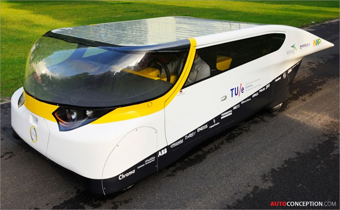 Solar-Team-Eindhoven-STE--Eindhoven-University-Technology-TU-e-Solar-Cell-Car-Design-STELLA