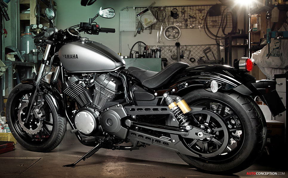 yamaha xv950 performance bobber. Black Bedroom Furniture Sets. Home Design Ideas