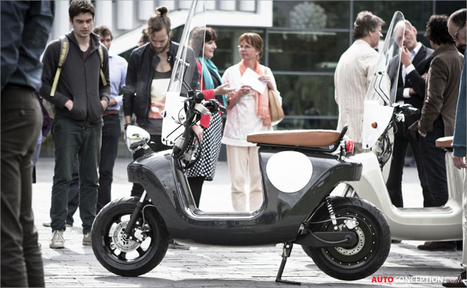 'Bio-Based' Be.e Electric Scooter Design