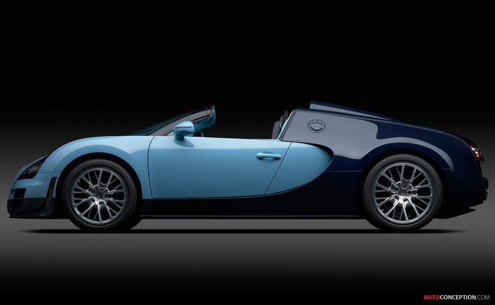 Bugatti Premieres First Veyron 'Legend'