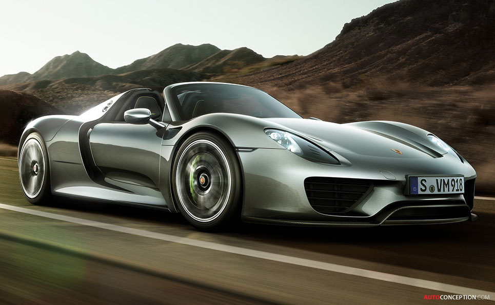 Porsche 918 Spyder Hybrid Headed For Pebble Beach